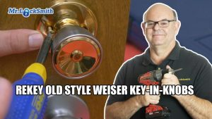 Rekey Old Wesier Key in Knob Locks Burnaby BC